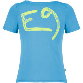 E9 B One T-Shirt Kinder cyan